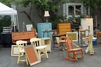 I can remove all your unwanted yard sale items!