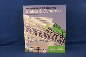 Engineering Mechanics Statics & Dynamics Thirteenth Edition NEW