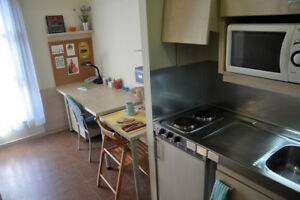 Female student looking for studio/room with bath and kitchen