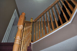 Birch Staircase Railing for Sale