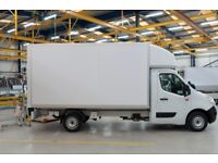 24/7 man and van hire with driver delivery courier, moving services, short notice, urgent clearance.