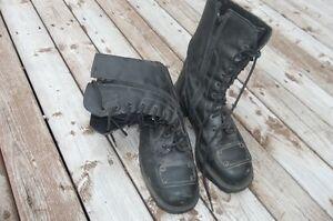 women's motorbike boots, size 8