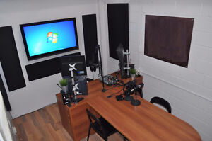 Soundproof Studio + office space loft style close to Downtown