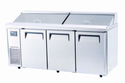 Turbo Air KHR18-3 Salad Side Prep Table-Hood Underwood Logan Area Preview