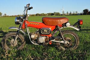 1973 Honda St90 trailsport
