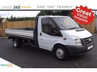 Ford Transit VERY CLEAN FACTORY ONE STOP ALLOY DROPSIDE 350 LWB EF