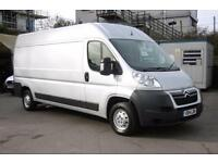 2014 CITROEN RELAY 35 L3H2 ENTERPRISE HDI IN SILVER WITH AIR CONDITIONING,ELECTR