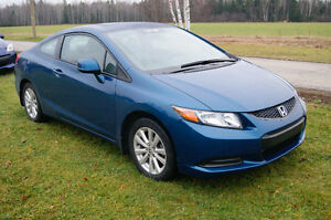 2012 Honda Civic exl loaded Coupe (2 door) LEATHER