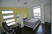 Furnished Master Bedroom Toronto Downtown for Male