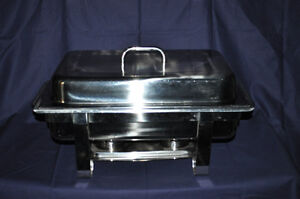 Stainless Chafing Dishes just in time for Christmas Entertaining