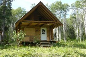 Land with cabin in beautiful Telegraph Creek,BC