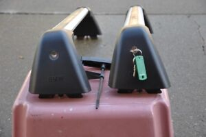 BMW BRAND ROOF RACK  AND WINTER RUBBER MATS
