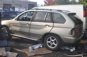 B BMW e53 X5 4.4i Built Oct 2002 M62 V8 Auto 1998-2006 no engine