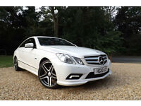 2010 Mercedes-Benz E350 3.0CDI Auto CDI AMG Sport COUPE DIESEL 7 SPEED FMBSH NAV