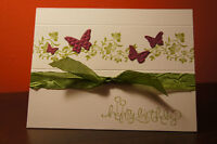 Custom hand made greeting cards (english, french or spanish)
