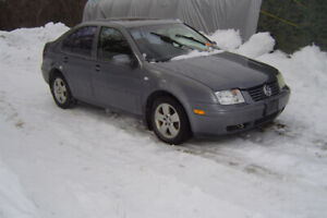 PARTING OUT 2003 VW JETTA 1.8T MANUAL TRANS