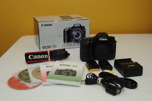 Canon EOS 7D Mark I Body - Perfect Condition