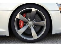 Wanted Audi A4 5x112 rotor alloys