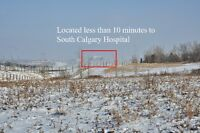 Land for sale on the outskirts of Calgary