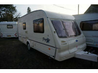 LOVELY 2002 BAILEY PAGEANT IMPERIAL 2 BERTH CARAVAN - MOVER - END WASHROOM