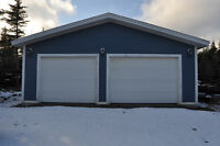 Commercial Zoned Garage Space for Lease in Pouch Cove