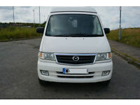 Mazda Bongo, 2000, 4WD Auto diesel Montague , White with rear conversion