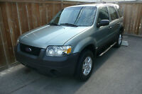 2005  Escape LOW K 117692  RARE MANUAL TRANIE OFFERS