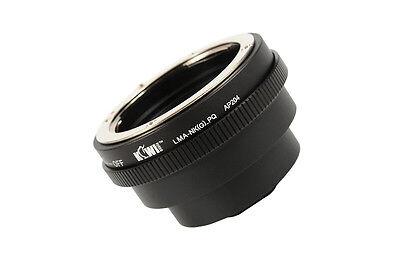 Objektivadapter passt zu Nikon G Objektiv an Pentax Q Anschluss Kamera