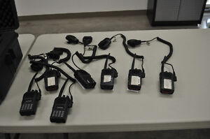 7 VX FM radios with mics, and accessories Prince George British Columbia image 2
