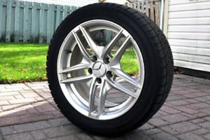245/45 R17 Yokohama Ice GUARD Winter tires on Mercedes-Benz Rims