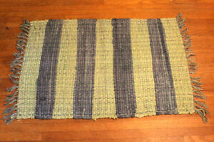 Green and Blue Rug - $5