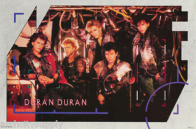 POSTER : MUSIC : DURAN DURAN  II - ALL 5 POSED - FREE SHIPPING       RAP124 A