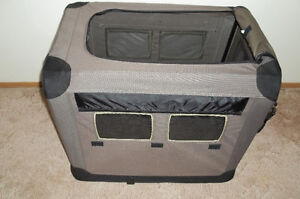Two Soft Sided Indoor/Outdoor Top Rated Kennels