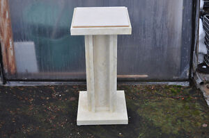 sturdy tile top plant stand