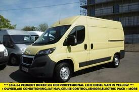 2014 PEUGEOT BOXER HDI 335 L2H2 PROFESSIONAL DIESEL VAN WITH AIR CONDITIONING,SA