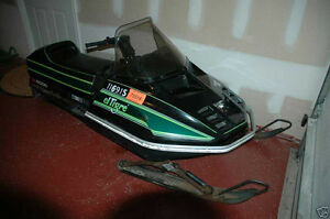 78-81 Arctic Cat el tigre 6000 parts sled