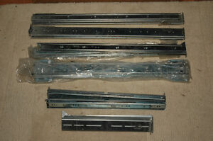 5 paires de rail coulissantes (heavy duty)