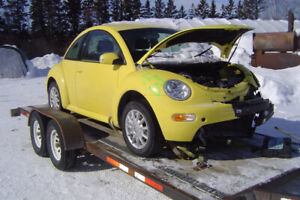 PARTING OUT 2005 VW BEETLE DIESEL 1.9 TDI