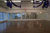 Salle à louer pour coach sportif (Yoga, Boot camp, Danse, autre)
