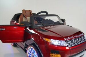 ✪ Exclusive Rover Evoque Kids Ride On Car with RC MP3 & LED✪