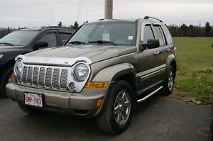 2006 Jeep Liberty Limited 4WD SUV, Crossover
