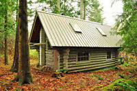 15 Acres With Log Cabin