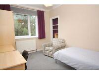 Single room in 3 bedroom flat close to Napier/Ed College & the Gyle (short-term let) av immediately