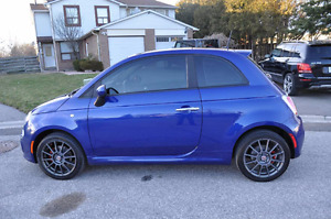 2012 Fiat 500 Sports edition MUST SELL