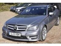 2012 Mercedes-Benz C Class 2.1 C220 CDI BlueEFFICIENCY AMG Sport Sport