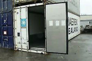 40' HC Steel Insulated Shipping Container