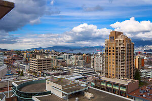 Fantastic Views at South Granville Penthouse, 2 Bedrooms + 2.5 B