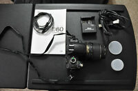 Nikon D60 DSLR with accessories