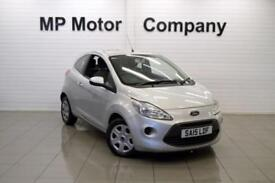2015 15 FORD KA 1.2 EDGE 3D 69 BHP STOPSTART HATCH, 1 OWNER, 19-000M FFSH