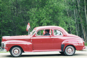 1947 RED MONARCH.